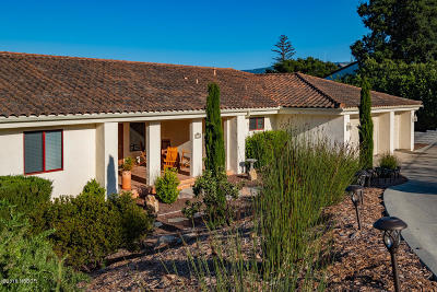 Ballard, Buellton, Los Alamos, Los Olivos, Santa Ynez, Solvang Single Family Home For Sale: 654 Ivy Lane