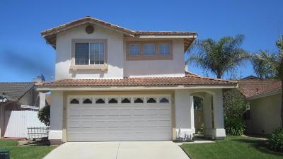 Santa Maria Single Family Home For Sale: 2518 Savoy Drive