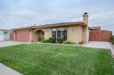 Santa Maria Single Family Home For Sale: 3915 Crestmont Drive