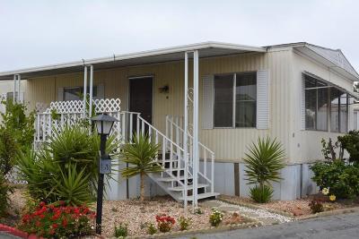 Santa Maria Single Family Home For Sale: 1701 S Thornburg Street #58