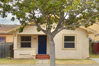 Santa Maria Single Family Home For Sale: 406 W Chapel Street