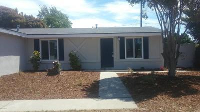 Lompoc Single Family Home For Sale: 320 E Oak Avenue