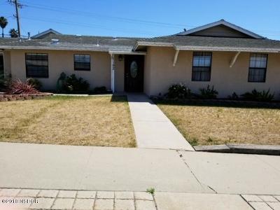 Santa Maria Single Family Home For Sale: 1192 Bauer Avenue