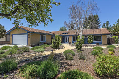 Solvang Single Family Home For Sale: 2141 Creekside Drive