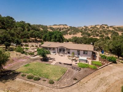 Santa Maria Single Family Home For Sale: 6855 Long Canyon Road