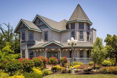 Santa Maria Single Family Home For Sale: 4527 Kapalua Drive