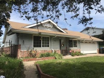 Lompoc Single Family Home For Sale: 1501 Berkeley Drive