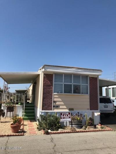 Santa Maria CA Single Family Home For Sale: $26,999