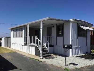 Santa Maria Single Family Home For Sale: 1600 E Clark Avenue #36
