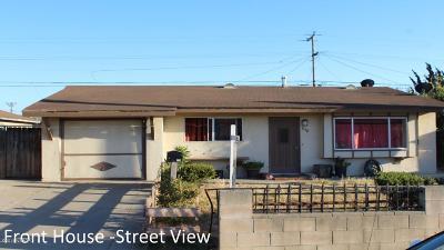 Santa Maria Single Family Home For Sale: 938 W Harding Avenue