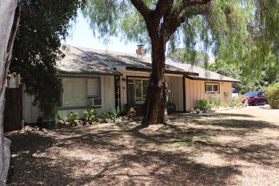 Santa Ynez Single Family Home For Sale: 700 N Refugio Road