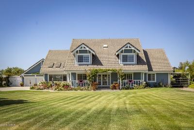 Santa Maria Single Family Home For Sale: 1285 Quarter Horse Trail