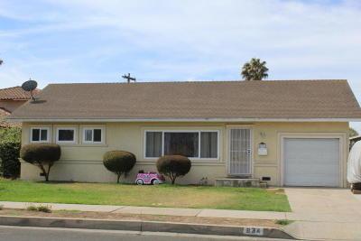Santa Maria Single Family Home For Sale: 834 Sierra Madre Avenue