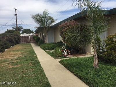 Lompoc Multi Family Home For Sale: 300 N 2nd Street NE #A,  B,