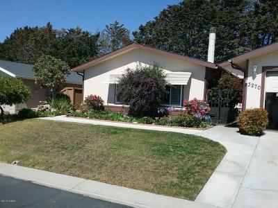 Santa Maria CA Single Family Home For Sale: $249,000