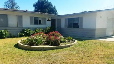 Solvang Single Family Home For Sale: 1716 Eucalyptus Drive