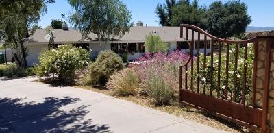 Solvang Single Family Home For Sale: 2720 Quail Valley Road