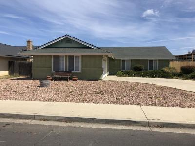 Lompoc Single Family Home For Sale: 1007 W Oak Avenue