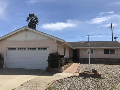 Lompoc Single Family Home For Sale: 616 N X Street