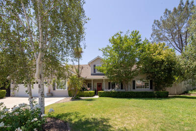 Santa Ynez Single Family Home For Sale: 3374 Manzana Street