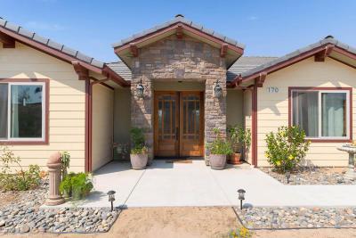 San Luis Obispo County Single Family Home For Sale: 170 Tres Casa Lane