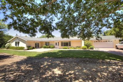 Santa Ynez Single Family Home For Sale: 3205 Highway 246