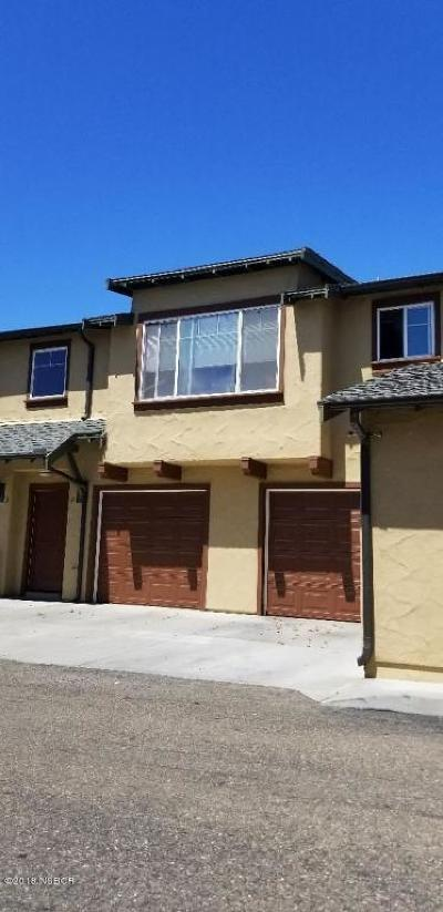 Lompoc Single Family Home For Sale: 3827 Cassini Circle #2