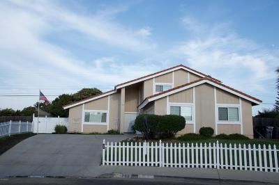 Santa Maria Single Family Home For Sale: 700 Morro Drive