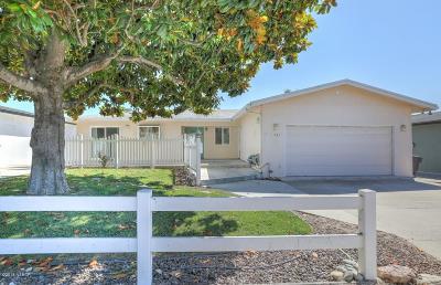 Arroyo Grande Single Family Home For Sale: 1367 Newport Avenue