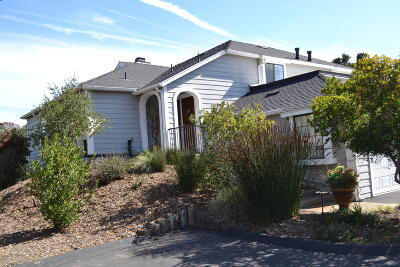 Solvang Single Family Home For Sale: 736 Hillside Drive