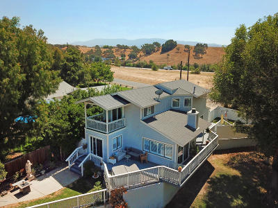 Santa Ynez Single Family Home For Sale: 3421 Numancia Street