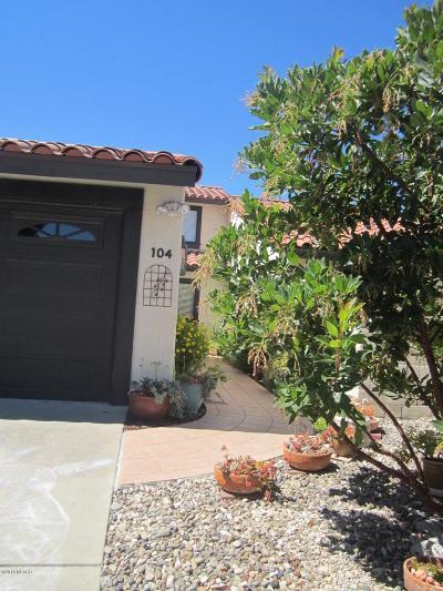 Lompoc Single Family Home For Sale: 104 Oak Hill Drive