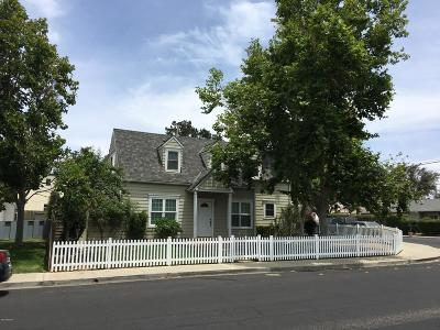 Solvang Single Family Home For Sale: 381 5th Street #A & B