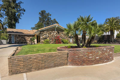 Santa Barbara County Single Family Home For Sale: 385 Foxenwood Drive