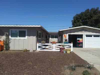 Santa Maria Single Family Home For Sale