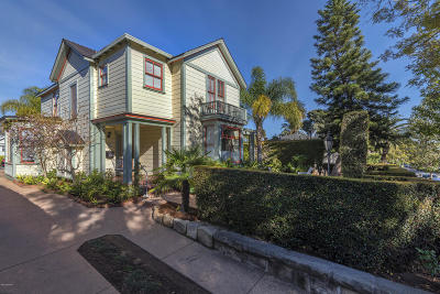 Santa Barbara County Multi Family Home For Sale: 1518 Bath Street