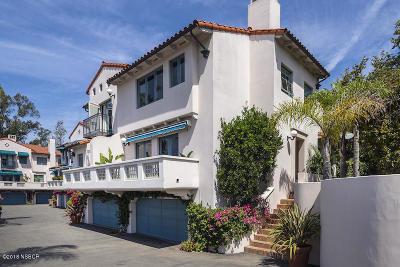Santa Barbara County Single Family Home For Sale: 1647 Posilipo Lane #A