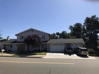 Santa Barbara County Single Family Home For Sale: 4005 Clubhouse Road