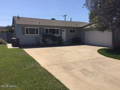 Santa Maria CA Single Family Home For Sale: $410,000