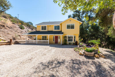 San Luis Obispo County Single Family Home For Sale: 9250 Temettate Drive