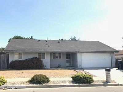 Lompoc Single Family Home Active Under Contract: 3414 Via Barba