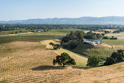Santa Ynez Single Family Home For Sale: 587 N Refugio Road