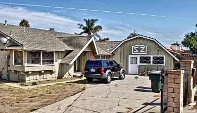 Lompoc Single Family Home For Sale: 295 E Central Avenue