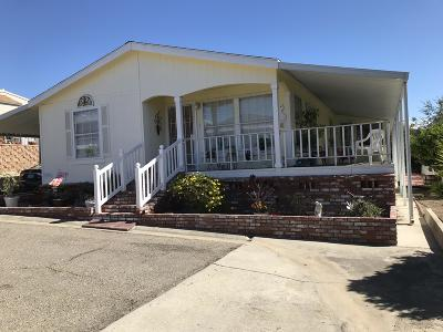 Pismo Beach Single Family Home For Sale: 201 Five Cities Drive #142
