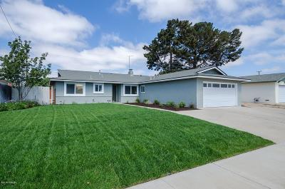 Santa Maria CA Single Family Home For Sale: $449,900