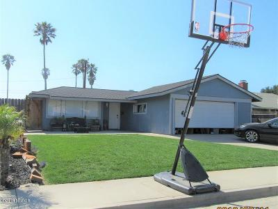Lompoc Single Family Home For Sale: 1035 N E Place