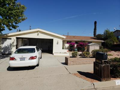 Santa Maria Single Family Home For Sale: 837 Millstone Avenue