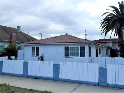 Lompoc Multi Family Home For Sale: 121 N K Street