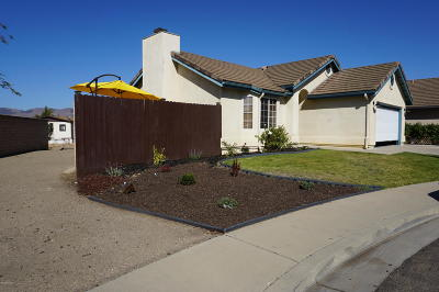 Santa Maria Single Family Home For Sale: 233 Riverside Court