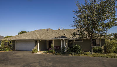 Solvang Single Family Home For Sale: 756 Hillside Drive